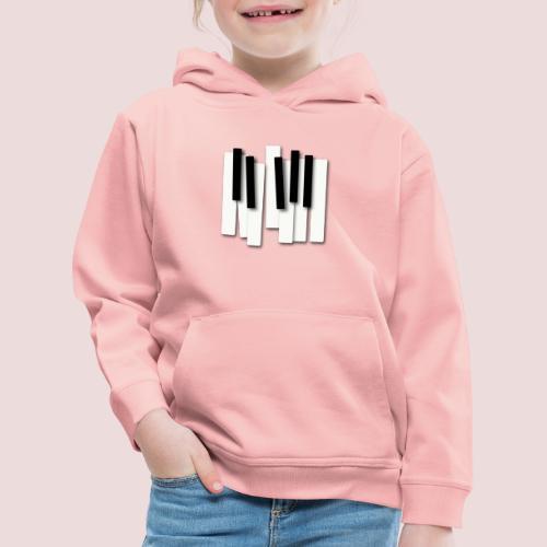 Klaviatur - Premium-Luvtröja barn