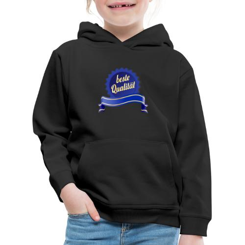 Beste Qualität - Kinder Premium Hoodie