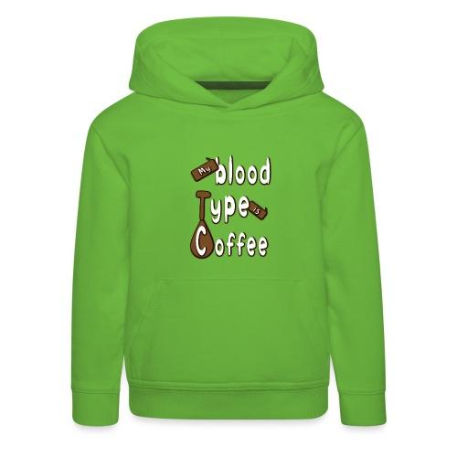 Blood Coffee - Lasten premium huppari