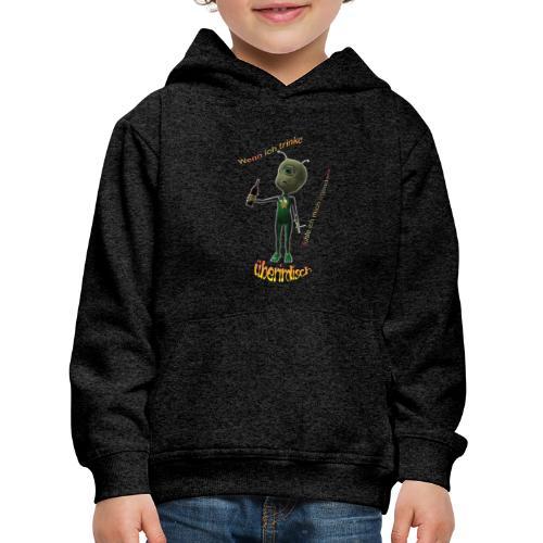 alien.png - Kinder Premium Hoodie