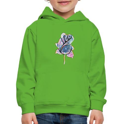 Fiore - Felpa con cappuccio Premium per bambini