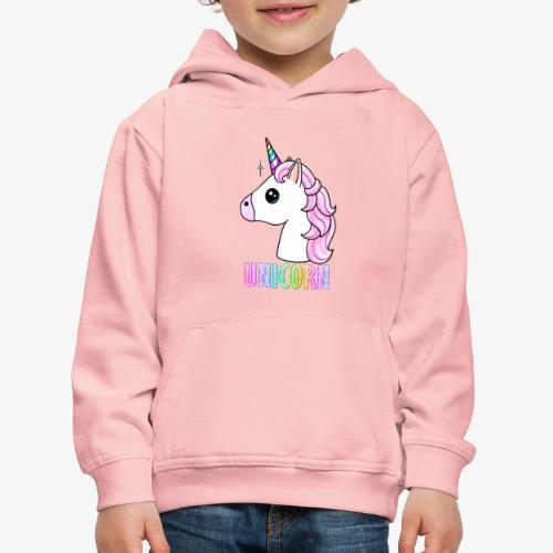 Unicorn - Felpa con cappuccio Premium per bambini