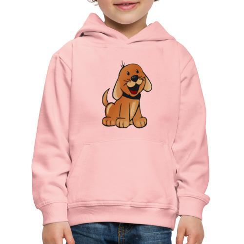 cartoon dog - Felpa con cappuccio Premium per bambini