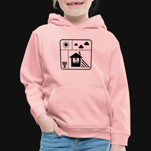 Happy White Balance - Kinder Premium Hoodie