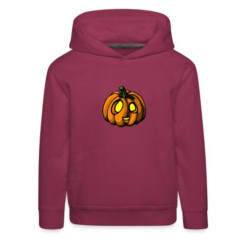 Pumpkin Halloween scribblesirii - Lasten premium huppari