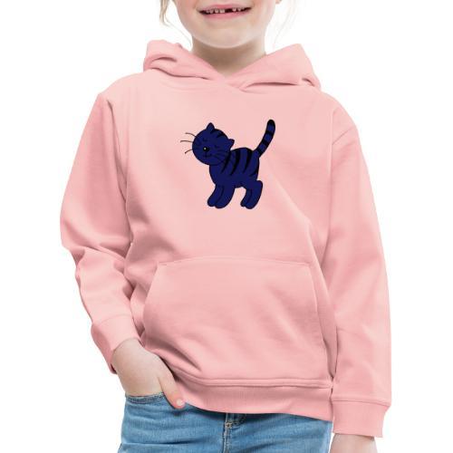 poes - Kinderen trui Premium met capuchon