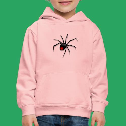 spider logo fantasy - Felpa con cappuccio Premium per bambini
