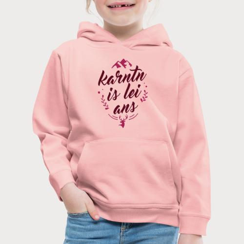 Karntn is lei ans • Nature Edition - Kinder Premium Hoodie