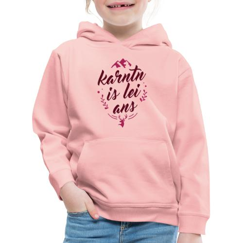 Karntn is lei ans • Nature Edition - Kinder Premium Hoodie