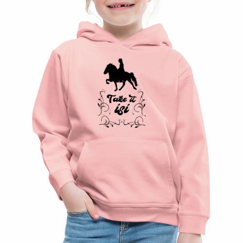 Isländer Pony Isi T-Shirt Islandpferd - Kinder Premium Hoodie