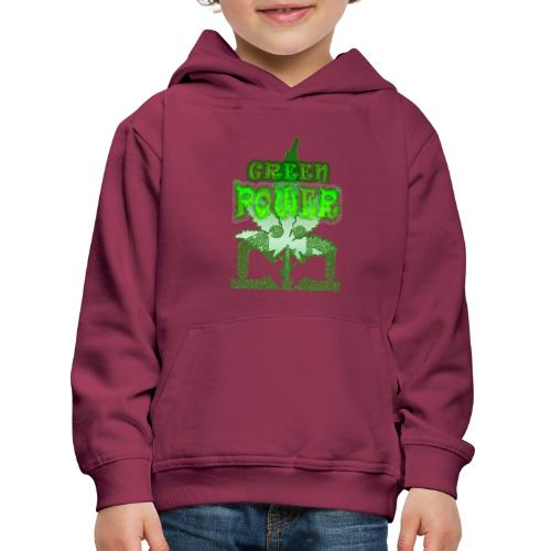 Green Power - Pull à capuche Premium Enfant