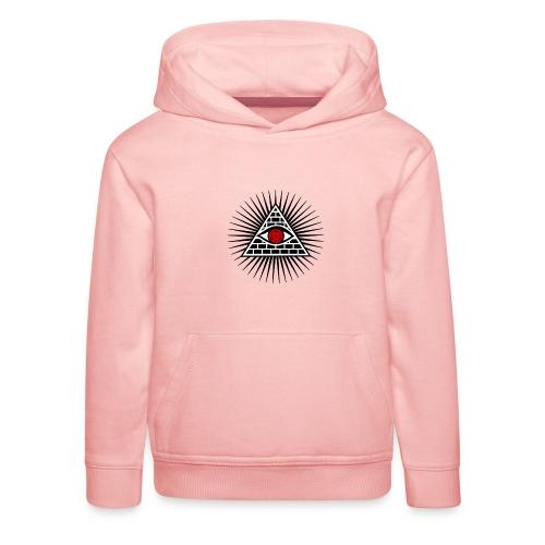 EYES - Bluza dziecięca z kapturem Premium