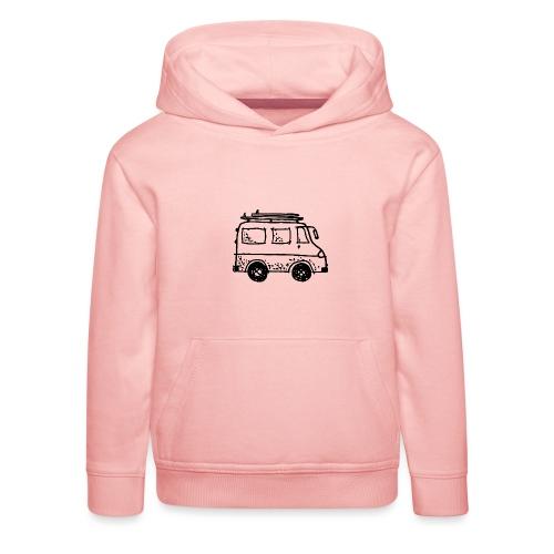 my tiny camper van - Kids' Premium Hoodie
