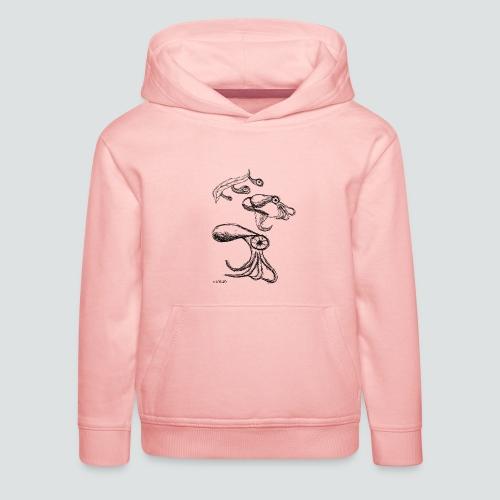 Octopussy png - Kinder Premium Hoodie