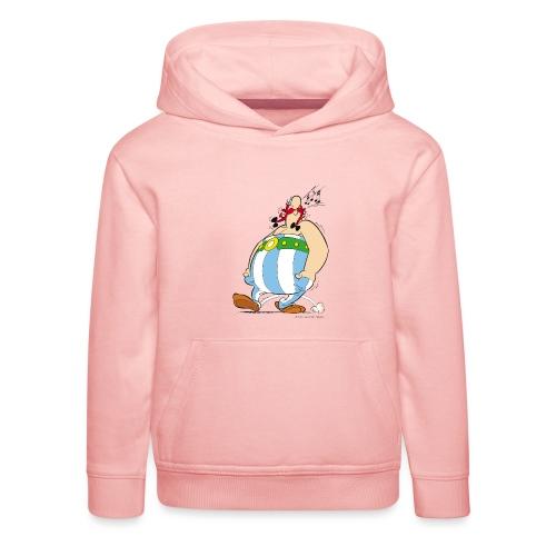 Asterix & Obelix - Obelix sifflant - Pull à capuche Premium Enfant