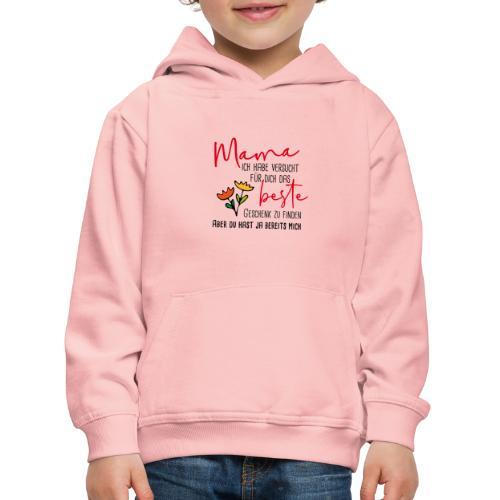 Mamas bestes Geschenk - Kinder Premium Hoodie