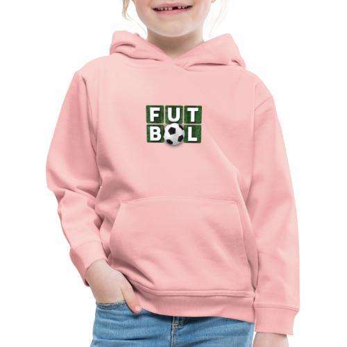 Futbol - Sudadera con capucha premium niño