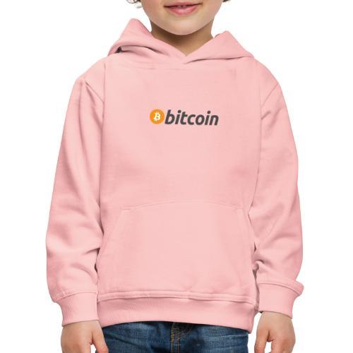 Bitcoin Italian Style - Felpa con cappuccio Premium per bambini