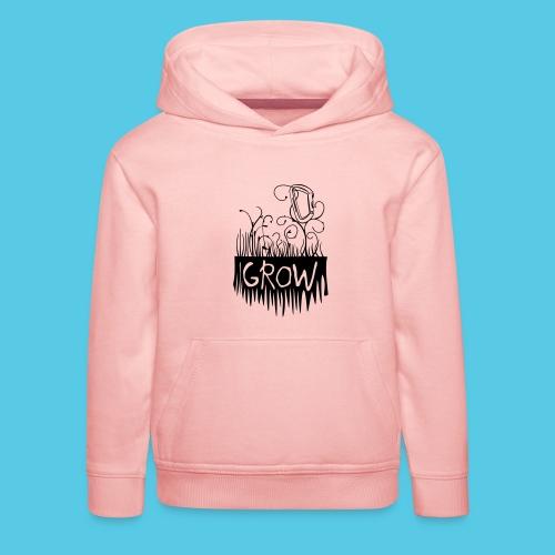 Grow Karabiner - Kinder Premium Hoodie