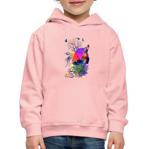 Lady Colors by T-shirt chic et choc - Pull à capuche Premium Enfant