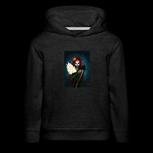 Death and lillies - Kids' Premium Hoodie