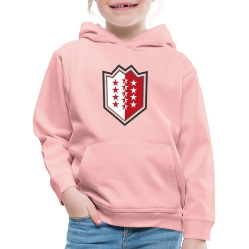 Bouclier moderne du Valais - Kinder Premium Hoodie