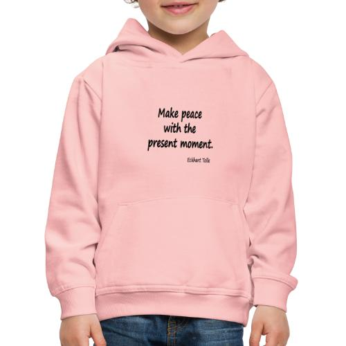 Make Peace - Kids' Premium Hoodie
