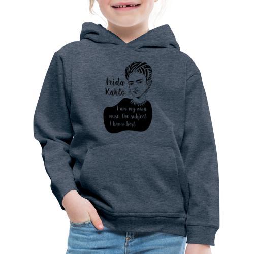 frida kahlo quote shirt - Kids' Premium Hoodie