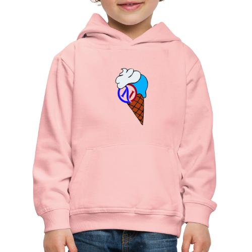 Ice cream collection - Felpa con cappuccio Premium per bambini