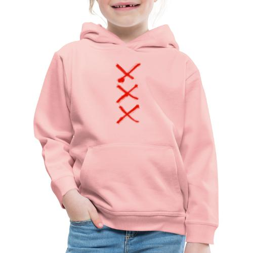 Drei Kreuze - Kinder Premium Hoodie