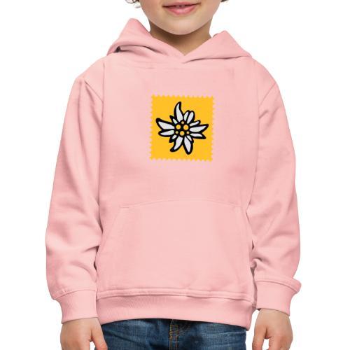 Briefmarke Edelweiss - Kinder Premium Hoodie
