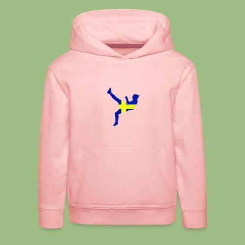 Ibra Sweden flag - Premium-Luvtröja barn