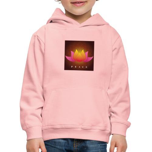 Peace Lotus - Kids' Premium Hoodie
