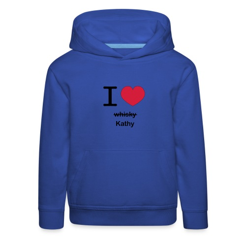 ilovekathy - Kinderen trui Premium met capuchon