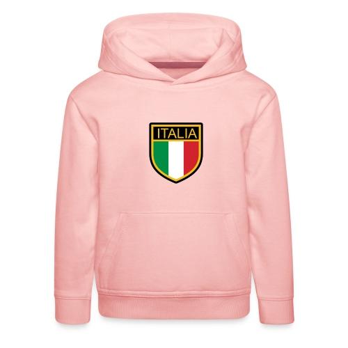 SCUDETTO ITALIA CALCIO - Felpa con cappuccio Premium per bambini