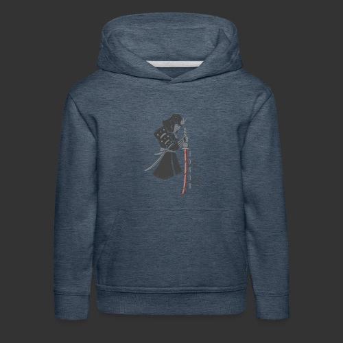 Samurai Digital Print - Kids' Premium Hoodie