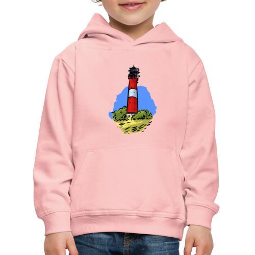 Leuchtturm Hörnum Sylt - Kinder Premium Hoodie