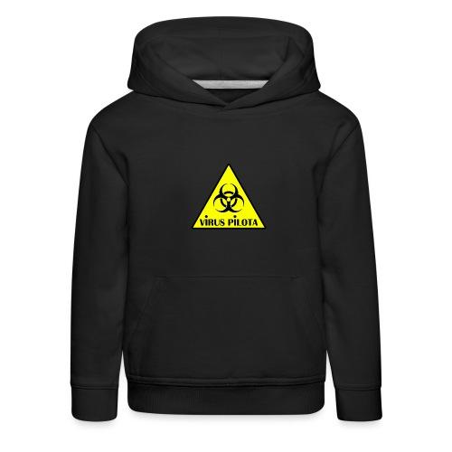 viruspelote png - Pull à capuche Premium Enfant