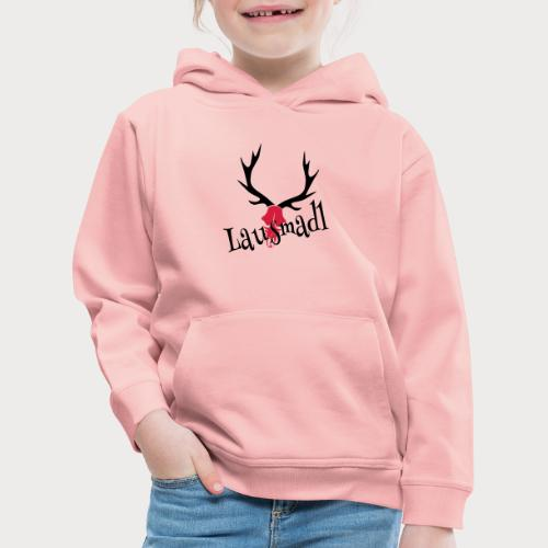 lausmadl hirsch - Kinder Premium Hoodie