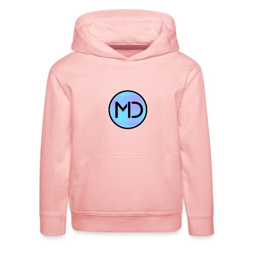 MD Blue Fibre Trans - Kids' Premium Hoodie