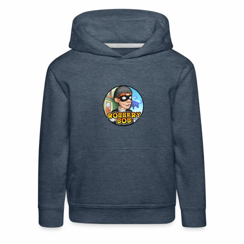 Robbery Bob Button - Kids' Premium Hoodie