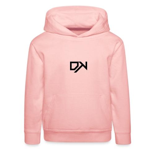 DewKee Logo T-Shirt Black - Kids' Premium Hoodie