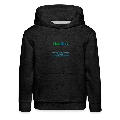 NeoBuX Blue - Kids' Premium Hoodie