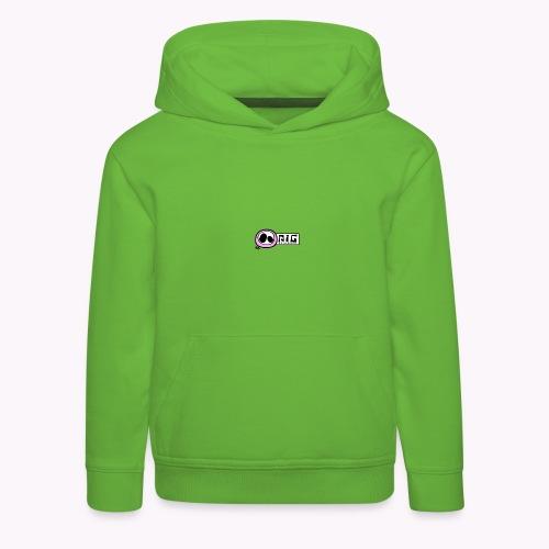 logo_PIGstudio-png - Felpa con cappuccio Premium per bambini