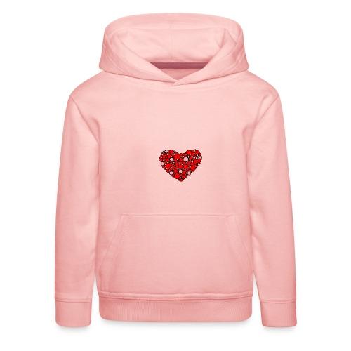 Hjertebarn - Premium hættetrøje til børn