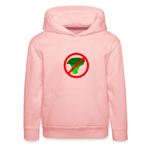 no broccoli allowed - Kids' Premium Hoodie