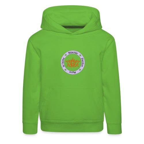 Tee shirt Bio Femme Ho oponopono - Kids' Premium Hoodie