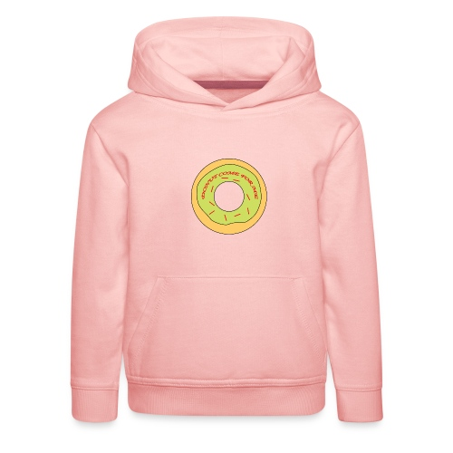 Donut Come For Me Red - Kids' Premium Hoodie