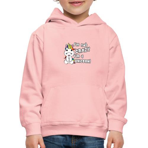 unicorn - Kinderen trui Premium met capuchon