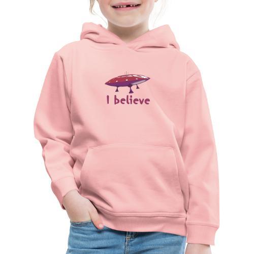 I believe - Kids' Premium Hoodie